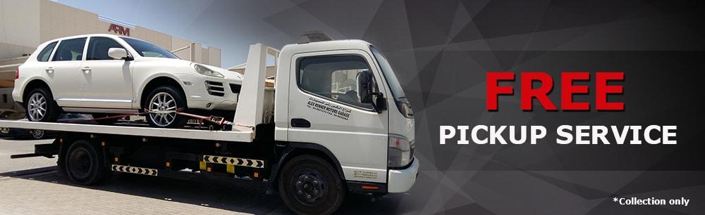 ARMotors - free pickup service