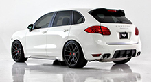 Cayenne Turbo Level 2: 540 HP after the modification