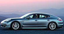Panamera Turbo Level 1: 590 HP after the modification