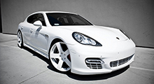 Panamera Turbo Level 2: 610 HP after the modification