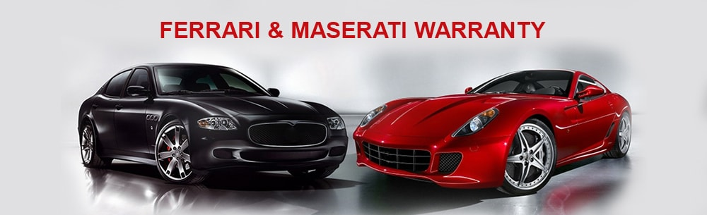 Ferrari & Maserati Exclusive Warranty