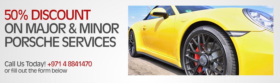 Porsche Dubai Services Promotions