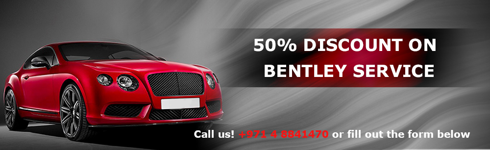 50% Discount On Bentley Service