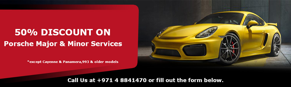 50% Discount on Porsche Services