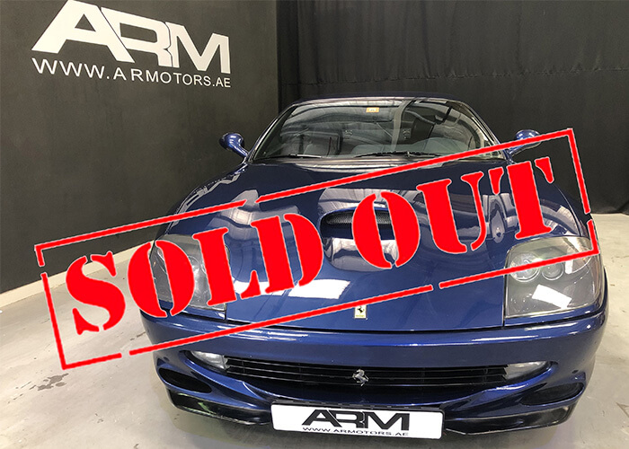sold-out-ferrari 550